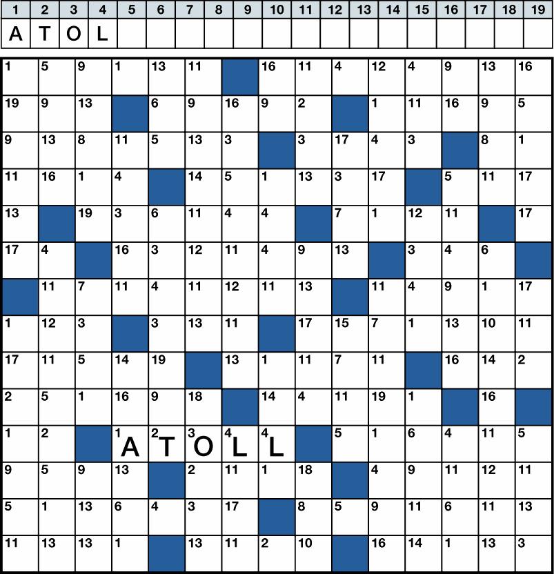 Zahlenrätsel - Kreuzworträtsel, Sudokus und Rätsel aller art