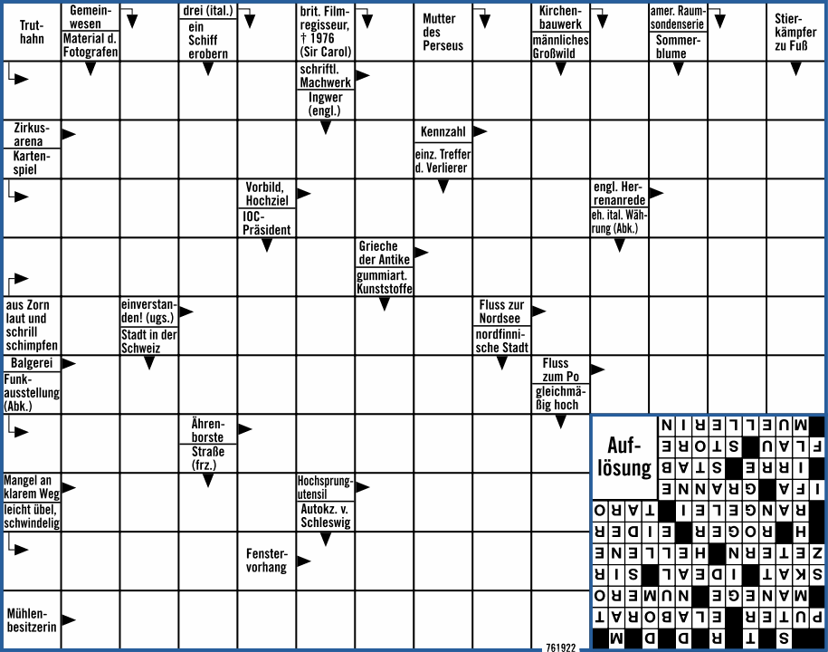 Kreuzworträtsel Bild De