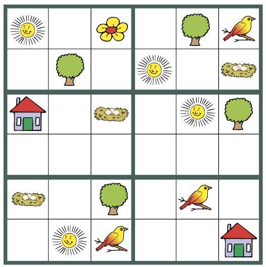 Kinder-Sudoku