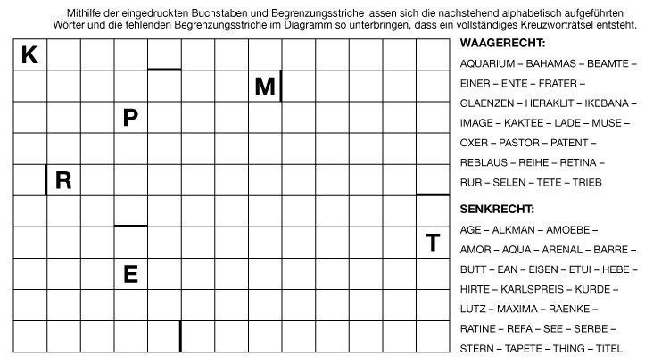 Schweizer Rätsel